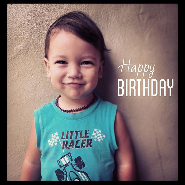 Today Jax turns 2! #happybaby #miraclebabyboy #littleracer #killersmile
