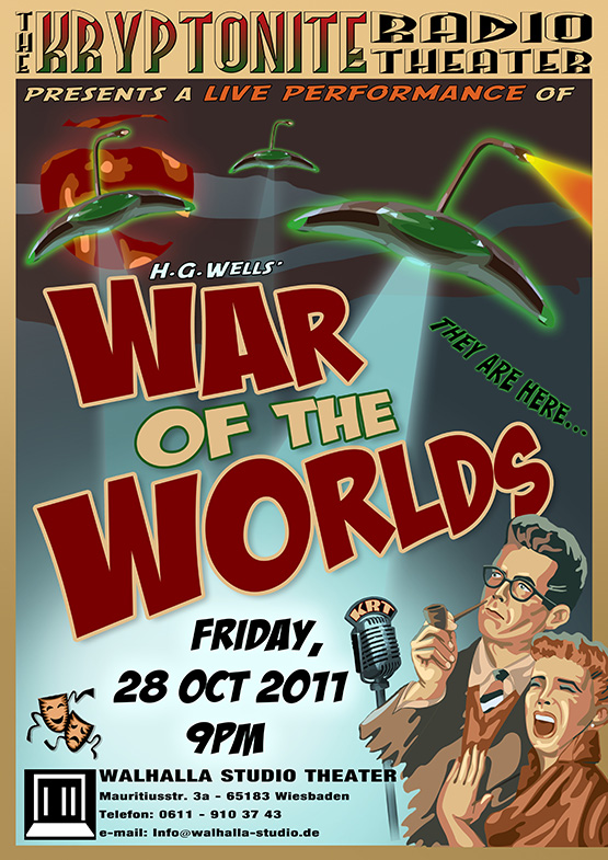 Kryptonite Radio Theater - War of the Worlds