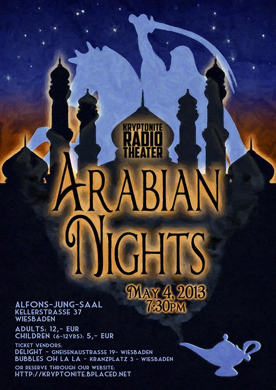 Kryptonite Radio Theater - Arabian Nights