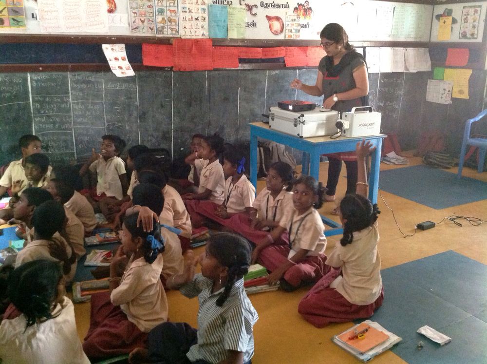 siab used in classroom - chennai, india