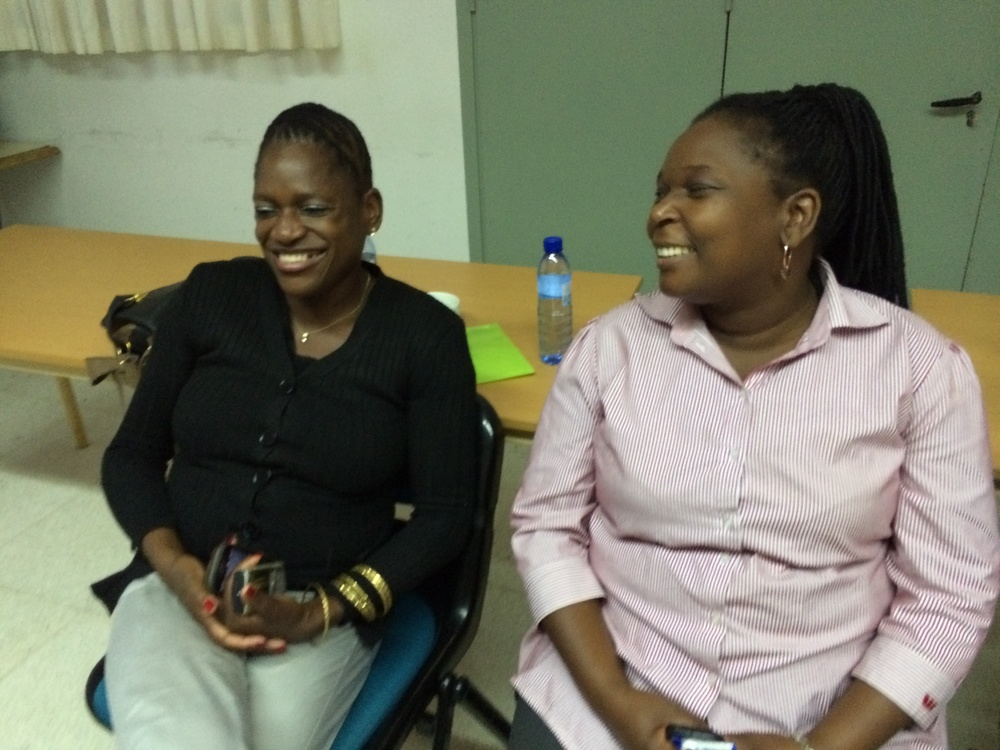 SIAB CHAMPIONS: Anastasia Assale, Ministry for Education Mozambique and Rosalina Rungo, Director IFEA Matola Mozambique