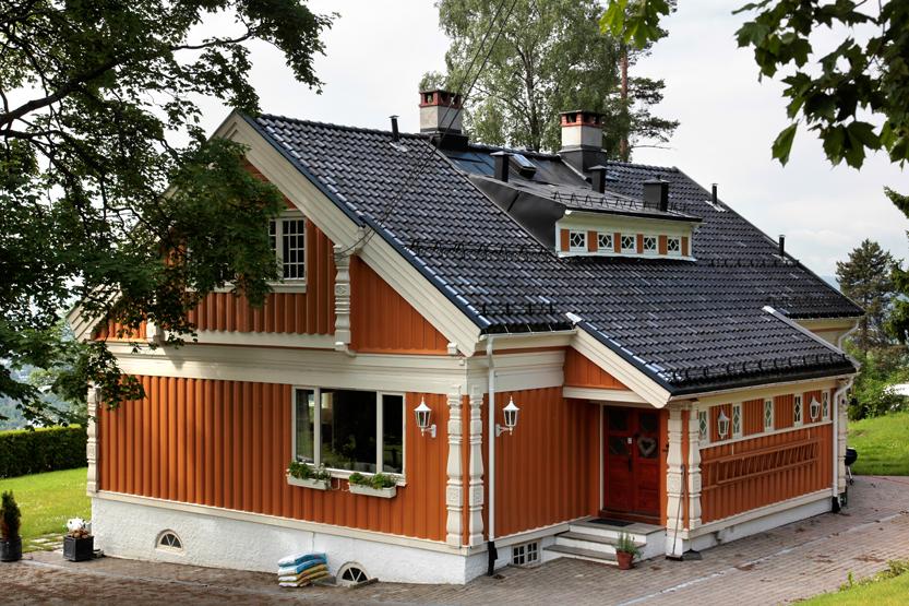 Quartier résidentiel d'Holmenkollen