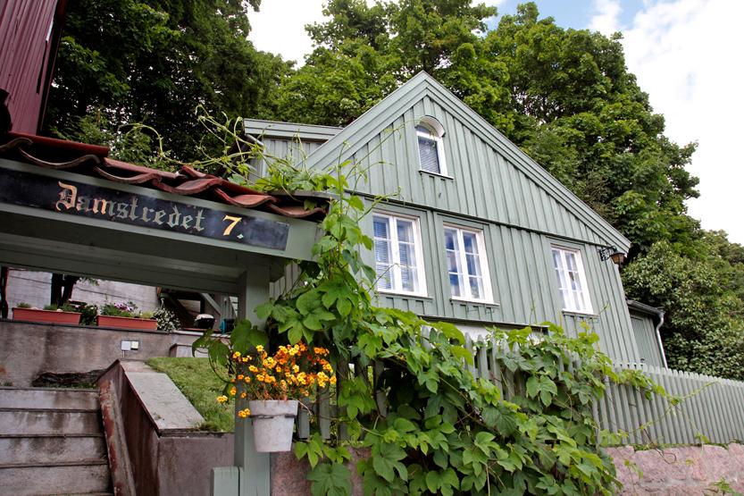 Petite ruelle Damstredet, Quartier St Hanshaugen
