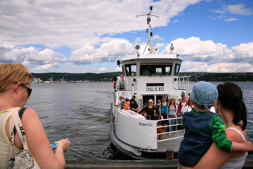 Plaisir des ferrys (inclus dans Oslo Pass)