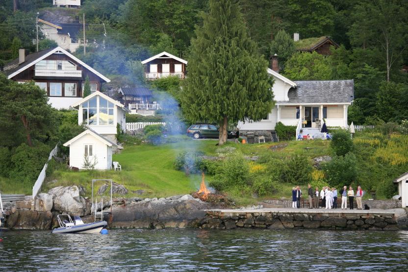 Feux de la Saint-Jean (Solstice d'été), Oslo Fjord