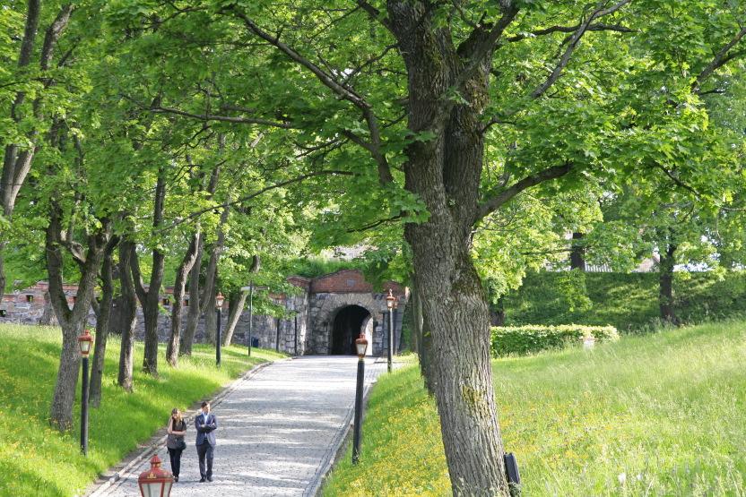 Jardins de la forteresse d'Akerhus, Centre (médieval) d'Oslo