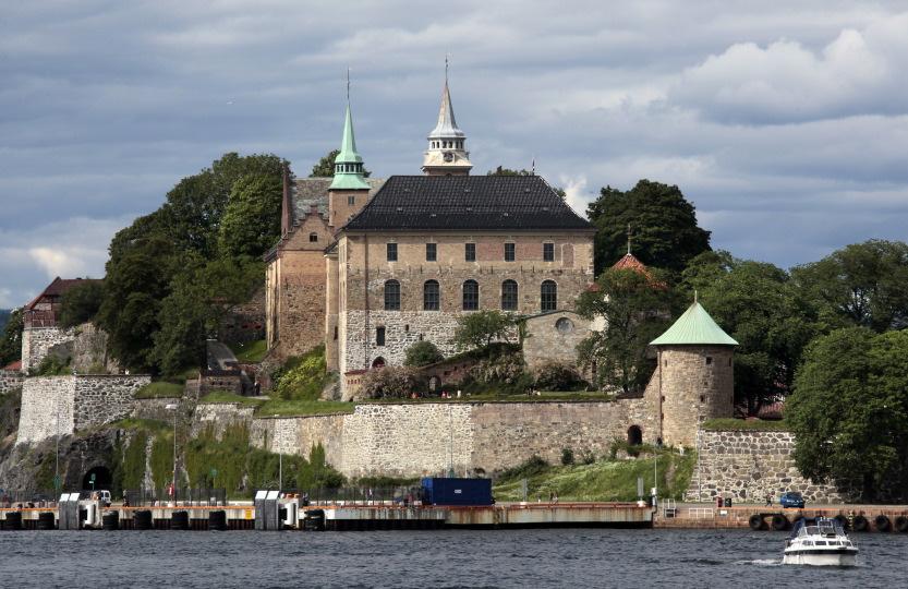 Forteresse d'Akerhus, Centre (médieval) d'Oslo