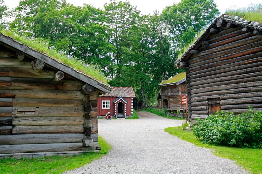 Norsk Folkemuseum, Bygdoy peninsula