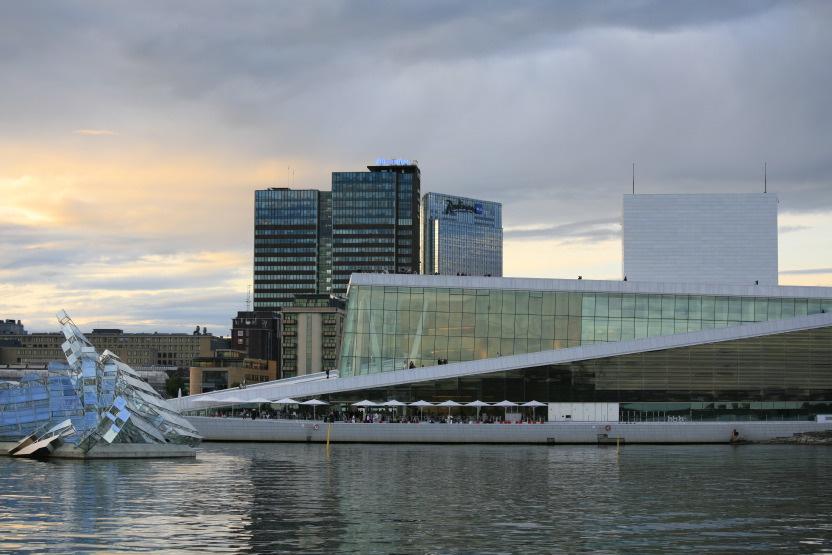 Oslo Opera House, Quartier 'Bjorvika'