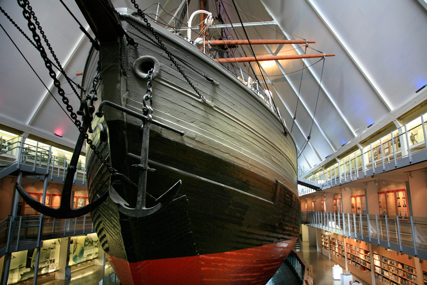 Musée du FRAM, Bygdoy peninsul