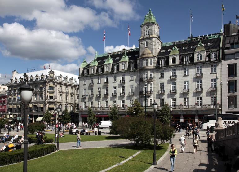 Le Grand Hotel sur Karl Johans Gate, Oslo