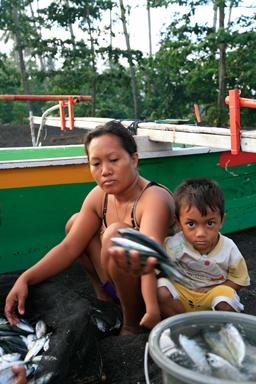 Les pêcheurs de Batu Puthih