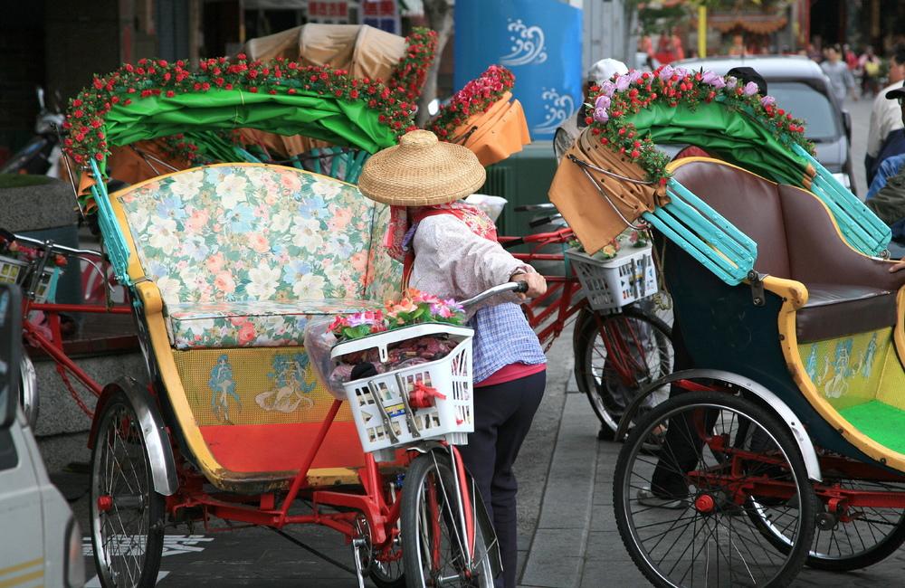 Kaohsiung Rickshaw, Taiwan, ROC