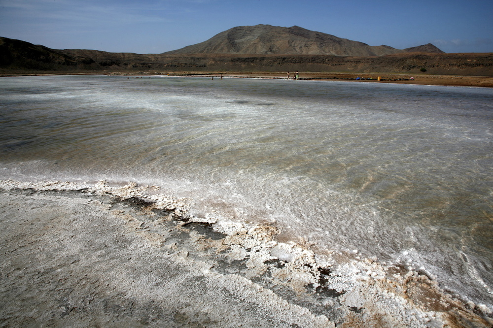 Salt Pan, Slat Island, Cape Verde