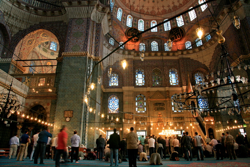 Great Mosque, Istanbul, Turkey