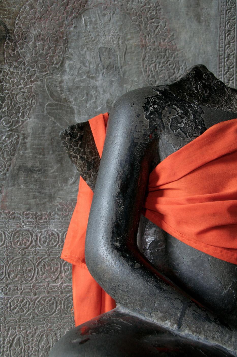 Buddha figure, ngkor Wat, Cambodia