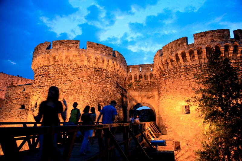 Kalemegdan Fortress, Belgrad, Serbia