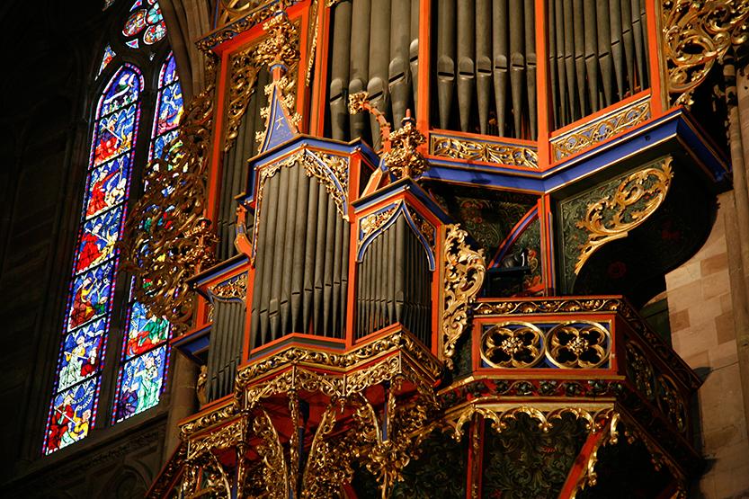 Orgue de la cathédrale de Strasbourg