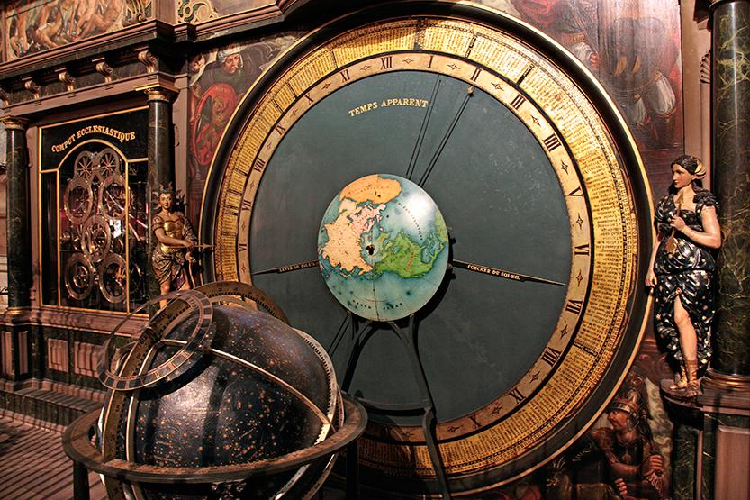 Horloge astronomique de la cathédrale de Starsbourg