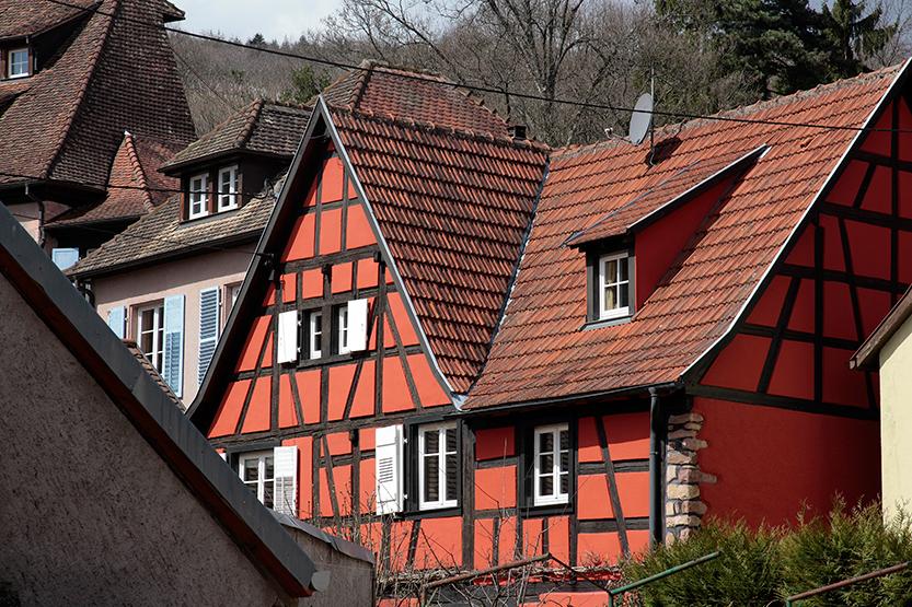 Maisons à colombages d'Andlau