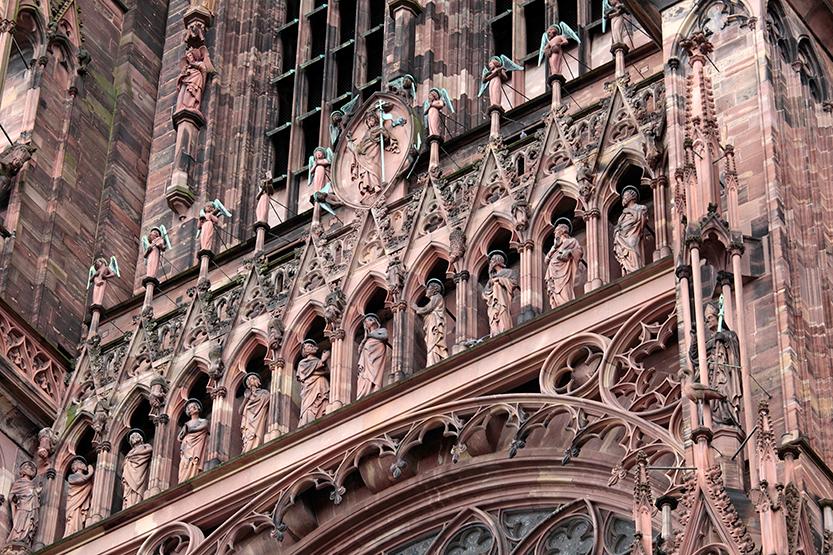 Le rose de la cathédrale de Strasbourg