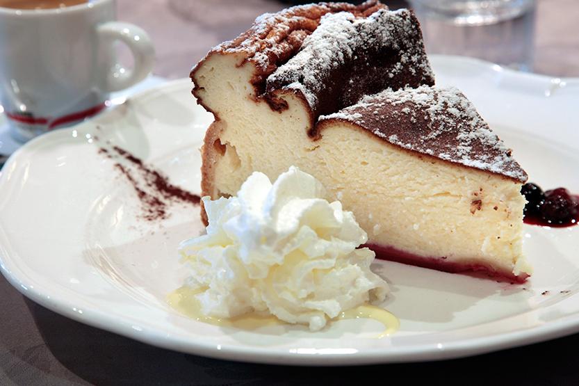 Alsacian cheesecake au Tire-Bouchon de Strasbourg