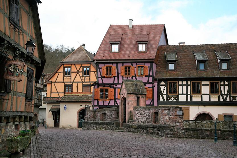 Maisons à colombages de Kayserberg