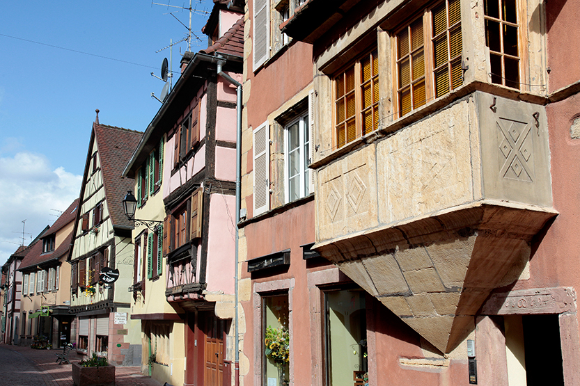 rue principale de Turckheim