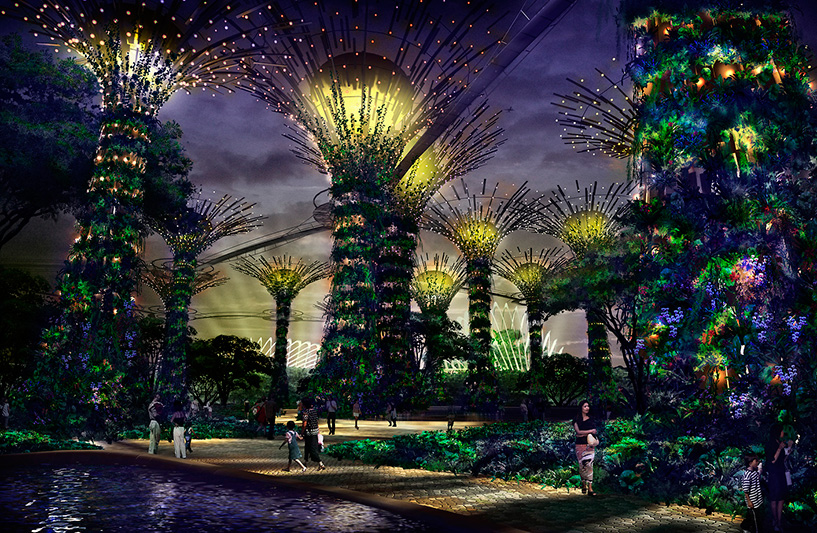 SuperTree - Gardens By The Bay, Artist Impression