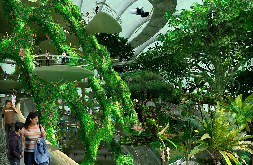 Gardens By The Bay, Artist Impression : Cloud Forest