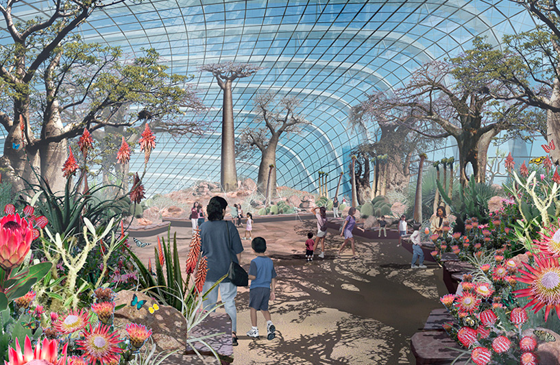 Flower Dome, Gardens By The Bay, Artist Impression