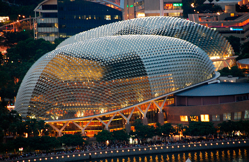 Esplanade - Courtesy of the Singapore Tourism Board, Photo: Jessica Koh