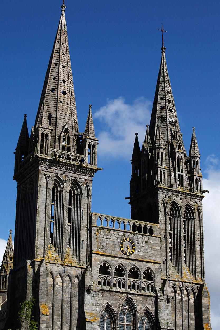 La cathédrale de Saint-Pol Aurélien à St-Pol-de Léon © JJ Serol