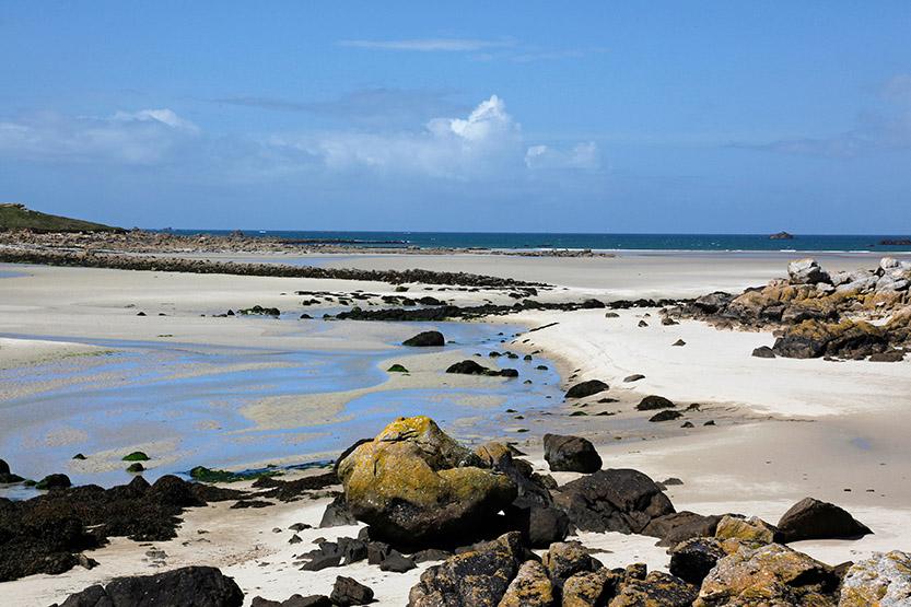 Les plages de sable blanc de Guissény © JJ Serol