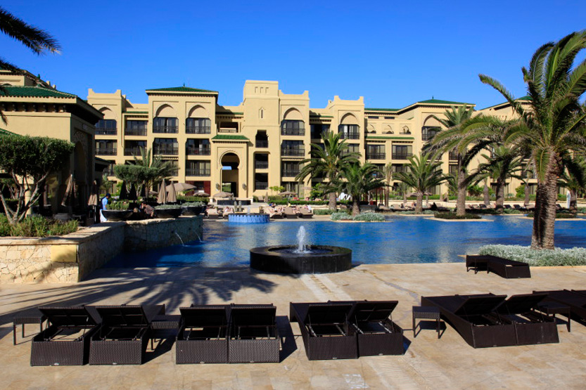 Piscine centrale du Mazagan Beach Resort