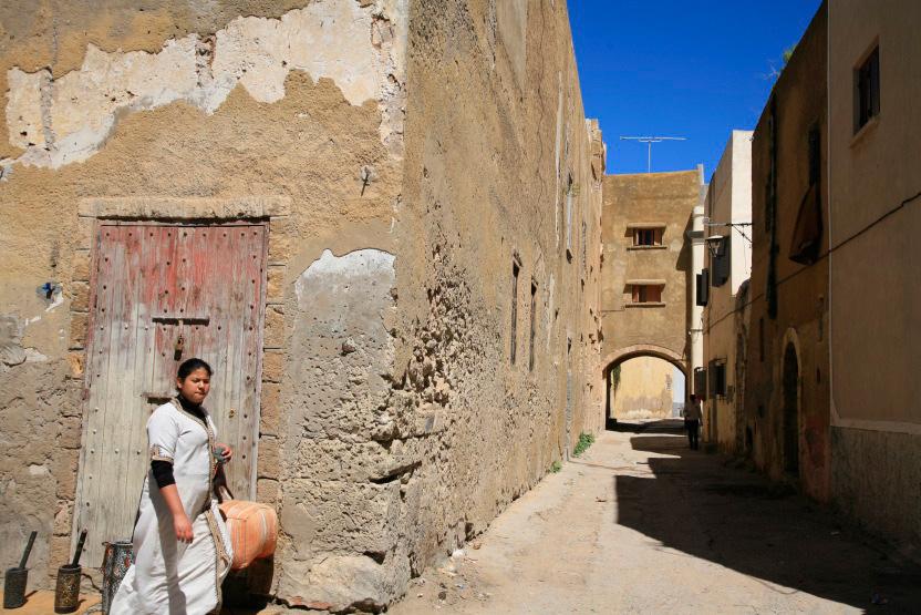 Ruelle centrale de ma médina d'El Jadida
