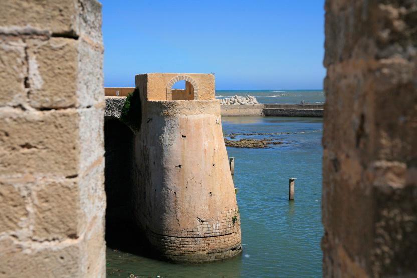 Remparts du bastion portugais d'El Jadida