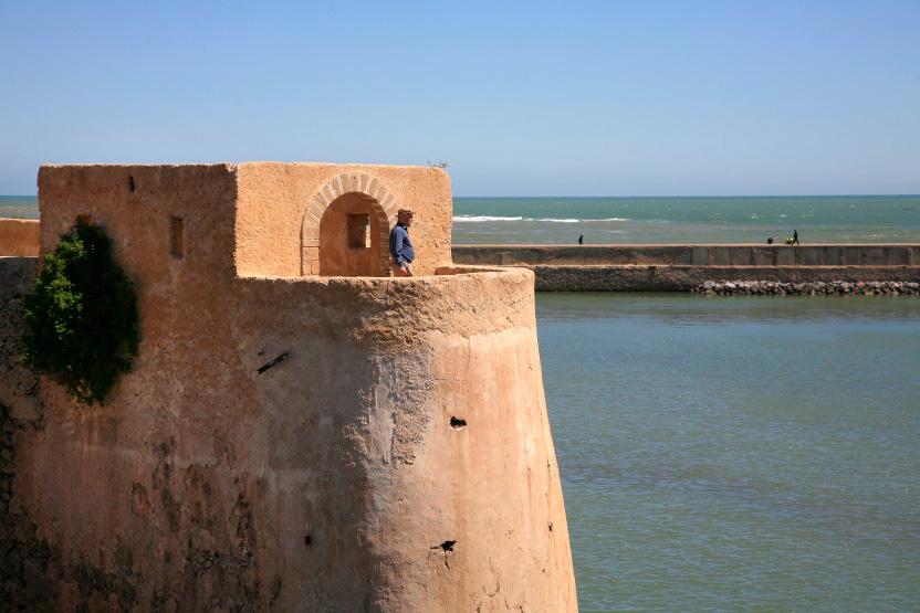Les remparts du bastion portugais d'El Jadida