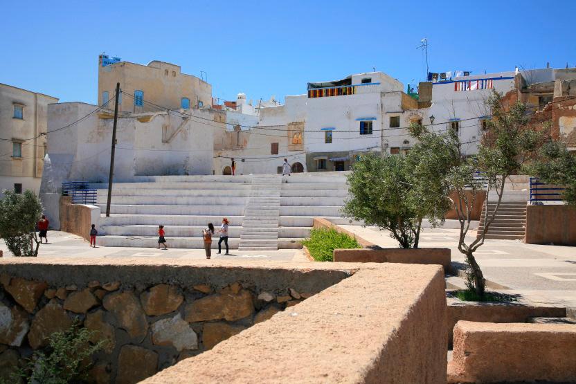 Esplanade du Mellah, Azemmour