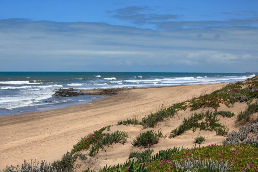 Plage d'El Houazia vu du Mazagan Beach Resort