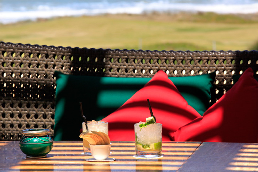 Apéro au Golf Club House, Mazagan Beach resort