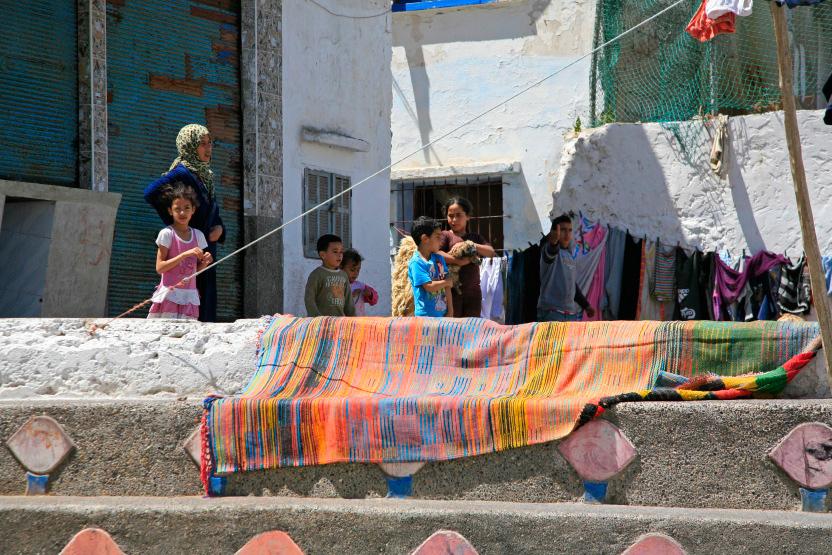Scène de rue, Azemmour
