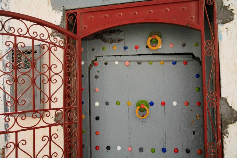 Portes colorées d'Azemmour