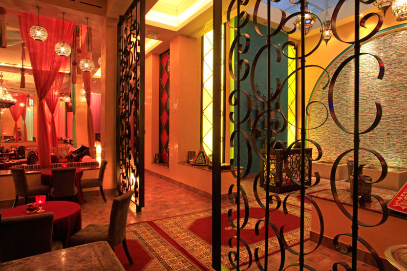 Morjana oriental restaurant lounge au Mazagan Beach Resort