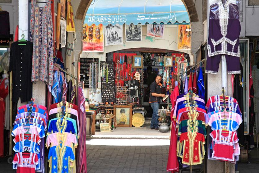 Souk du quartier des Habous, Casablanca