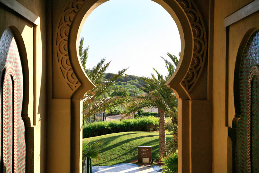 Mazagan Beach Resort, vue sur les jardins
