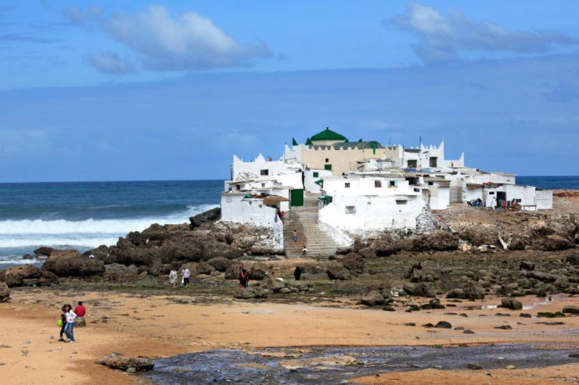 Le mausolée de Sidi Abderrahmane, Casablanca