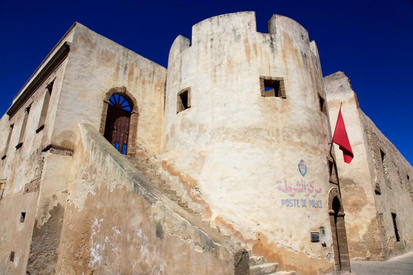 Reste du vieux fort à El Jadida