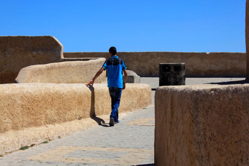 Sur les remparts d'El Jadida