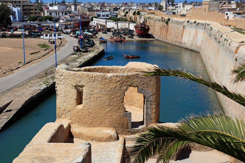 Vue du bastion de l'ange d'El Jadida